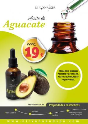 Aceite  vegetal de Aguacate Nirvana Spa