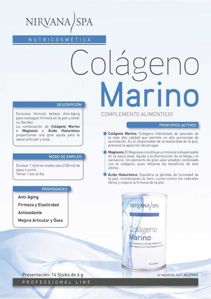 colágeno marino Nirvana Spa
