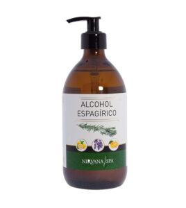 Alcohol Espagirico 500 ml, Nirvana Spa