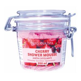 Cherry Shower Mousse 200 ml, Nirvana Spa