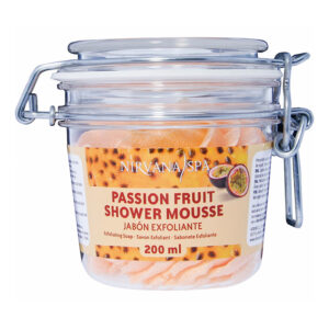 Passion Fruit Shower Mousse 200 ml, Nirvana Spa