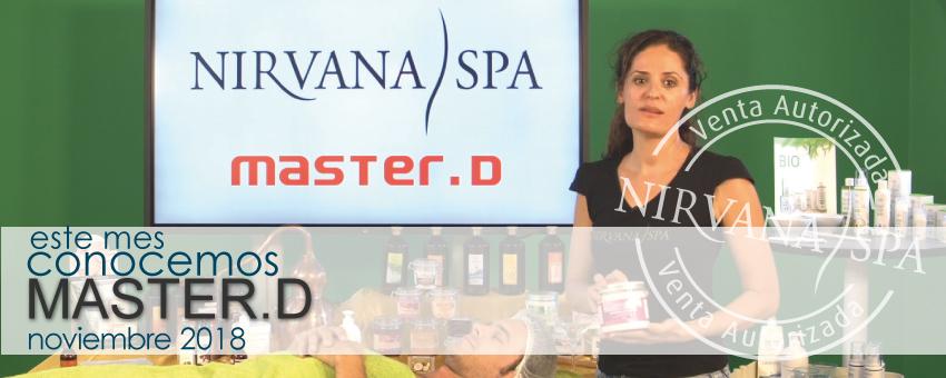 Master.D, centro colaborador Nirvana Spa