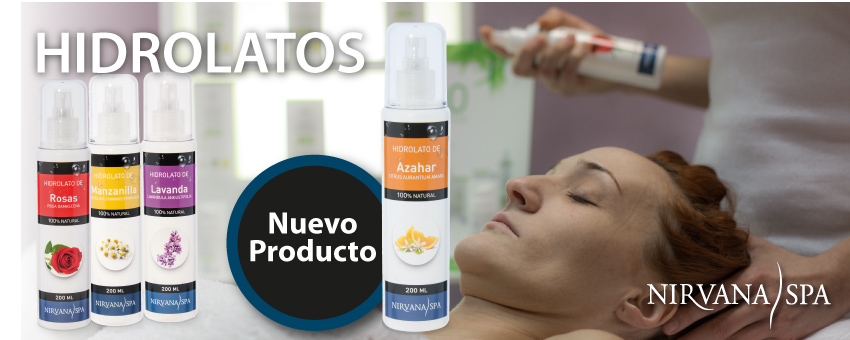 Hidrolatos Nirvana SPA