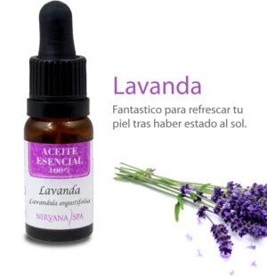 Aceite Esencial Lavanda, Nirvana Spa