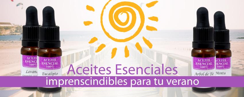 Aceites Esenciales, Imprescindibles para el Verano, Nirvana Spa