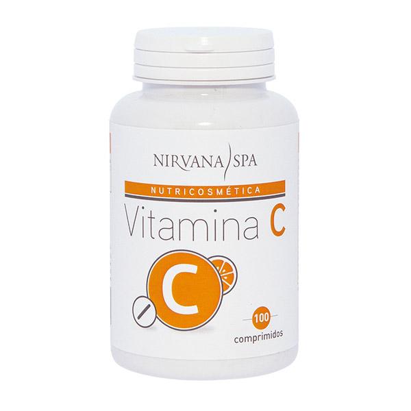 Vitamina C, 100 comprimidos, Nirvana Spa