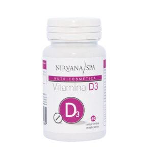 Vitamina D3, 60 comprimidos, Nirvana Spa